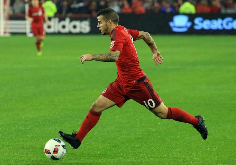 Sebastian Giovinco is a key player in the Toronto FC squad as the team takes on Seattle Sounders in the MLS Cup Final, December 10, 2016