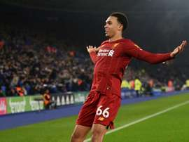 Liverpool thrash Leicester to open up 13-point Premier League lead. AFP
