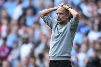 Guardiola se quejó del poco descanso. AFP
