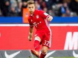 Kimmich vai renovar com o Bayern Munique. AFP