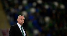 The Northern Ireland squad has been named. AFP