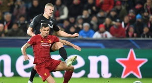Liverpool travelled with Wijnaldum and without Lovren. AFP