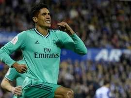 Real Madrid exige quantia exorbitante por Raphael Varane. AFP