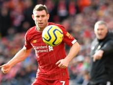 Liverpool's stellar season 'not normal', says Milner. AFP