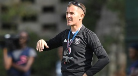 Orlando Pirates lose three matches, coach within eight days. AFP