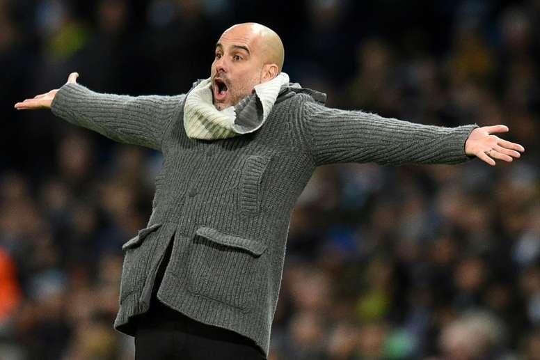 Guardiola ne veut pas de désastre. AFP