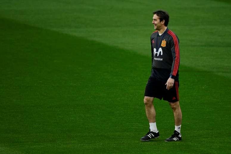 Lopetegui vai deixar a selecção espanhola no final do Mundial. EFE