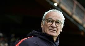 Ranieri rides to rescue of Serie A bottom club Sampdoria. AFP