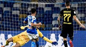 Le Napoli de Mertens file en finale de la Coppa Italia. AFP