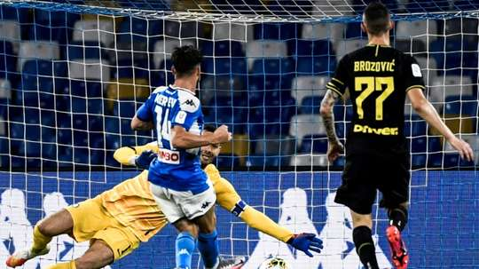 Napoli are in the final. AFP