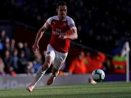 Ramsey está cerca de convertirse en jugador de la Juventus. AFP
