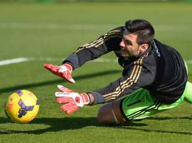 Goalkeeper Marco Amelia has agreed a contract until the end of the season with Chelsea and will be available for the team when they return to Premier League action against Aston Villa at Stamford Bridge on October 17