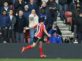 Shane Long went from scoring the Premier League's fastest goal to preventing a win. AFP