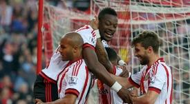Sunderland defender Lamine Kone joined the club in January for £6 million. AFP