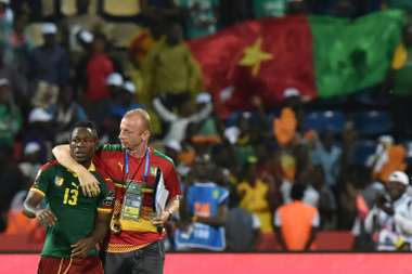 Cameroon get CHAN 2020 campaign off to winning ways. AFP