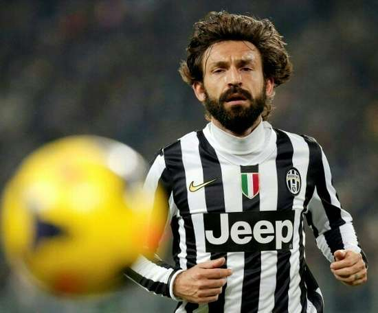 The right place at the right time, says Andrea Pirlo of first coaching job at Juventus. AFP