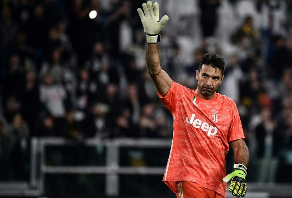 Buffon, historia viva de la Serie A. AFP/Archivo