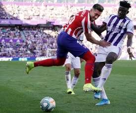 Mohammed Salisu (R) has moved to Southampton from La Liga. AFP