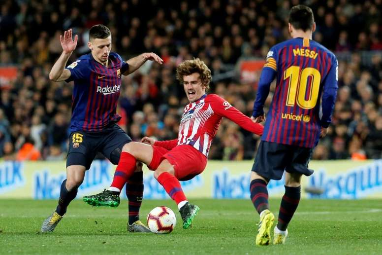 Messi Suarez Griezmann An Attacking Force To Rank Up The Goals Besoccer