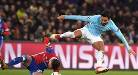 Gundogan scored twice to put City in control. AFP
