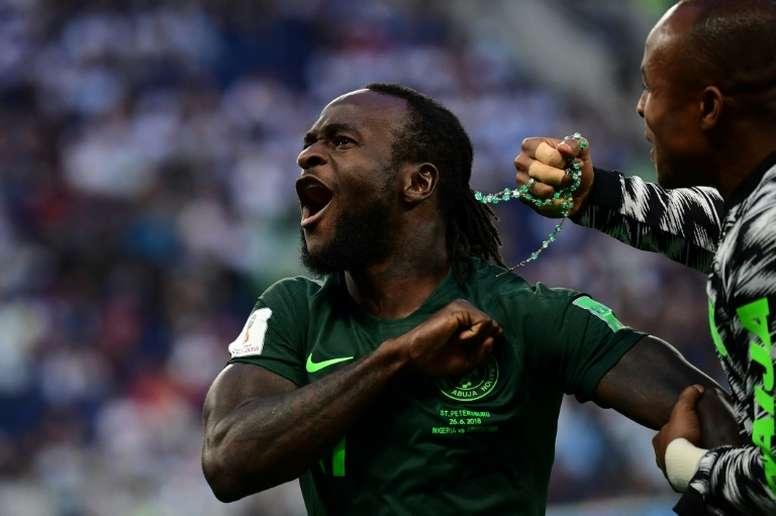 Moses, tout proche de l'Inter. AFP