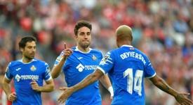 Jaime Mata sueña con jugar la Champions. AFP