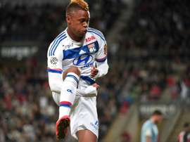 Clinton Njie, pictured in action on May 23, 2015, required an operation after sustaining an injury in Spurs Europa League win over Monaco