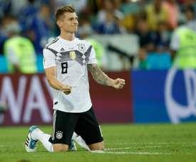 Kroos volta a ser convocado para a Seleção Alemã. AFP