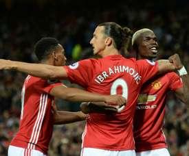 Paul Pogba has defended former United teammate Ibrahimovic. AFP