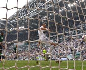 Closing in on Juve. AFP