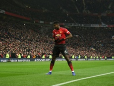 Pogba rejoices as Man Utd extend Solskjaer's winning start.