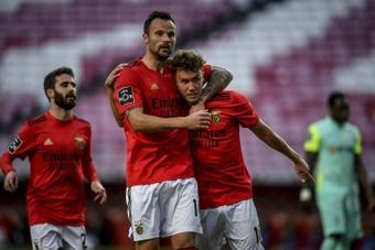 Os relacionados do Benfica para o duelo de Champions contra o Spartak. AFP