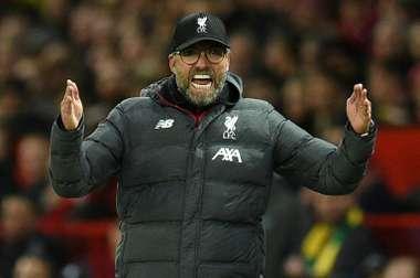 Klopp rues VAR failure to rule out Man Utd goal as Liverpool held. AFP