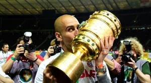 Guardiola, closer to an indefinite holiday than to Germany. AFP