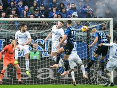 Inter were battered. AFP