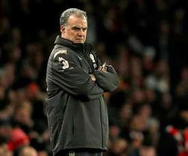 Leeds won 4-0. AFP