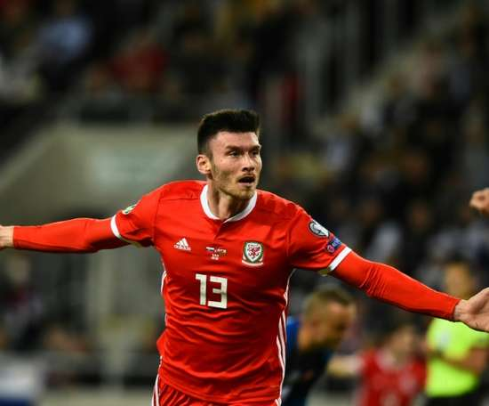 Kiefer Moore kept Wales' Euro 2020 hopes alive with goal in draw in Slovakia. AFP