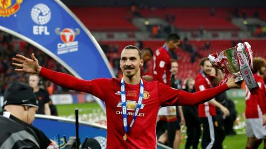 Manchester United won the trophy in 2017. AFP