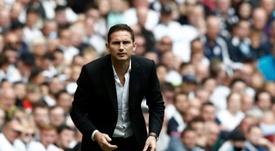 Derby County demandera près de cinq millions à Chelsea pour Lampard. AFP