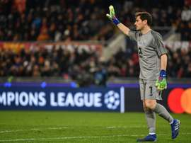 Casillas is in the Champions League Quarter-Finals with FC Porto. AFP