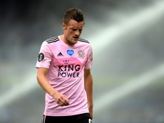 Rodgers has faith in Vardy despite goal drought. AFP