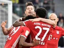 El Bayern ya es campeón. AFP