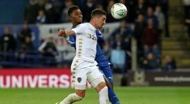 Pablo Hernández prolongó su contrato con el Leeds. AFP