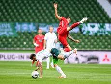 Werder Bremen drew 0-0. AFP
