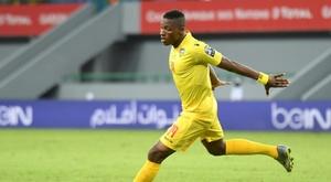 Kodjo Fo-Doh Laba scored in stoppage time. AFP