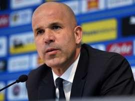 Luigi Di Biagio has become the new SPAL coach. AFP