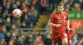 El jugador del Liverpool podría salir otra vez cedido. AFP