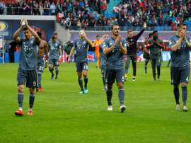 Bayern missed the chance to wrap up the Bundesliga title on Saturday. AFP