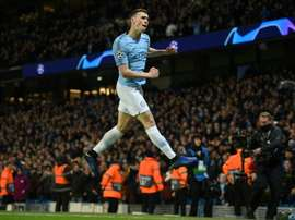 Foden wants to leave Man City in January due to a lack of opportunities. AFP