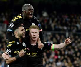 City's plan to keep De Bruyne. AFP